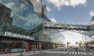 Chantier Centre Commercial Beaugrenlle